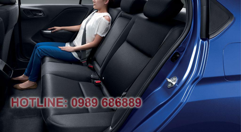 An toàn trên xe Honda city 2015