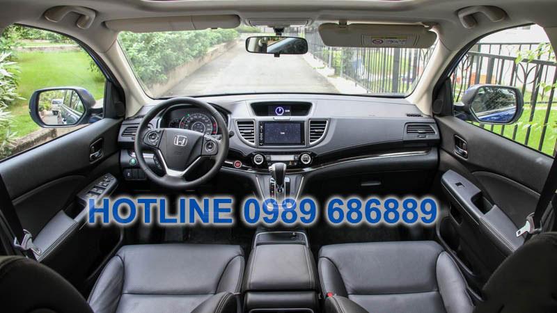 Nội thất xe Honda CRV 2015