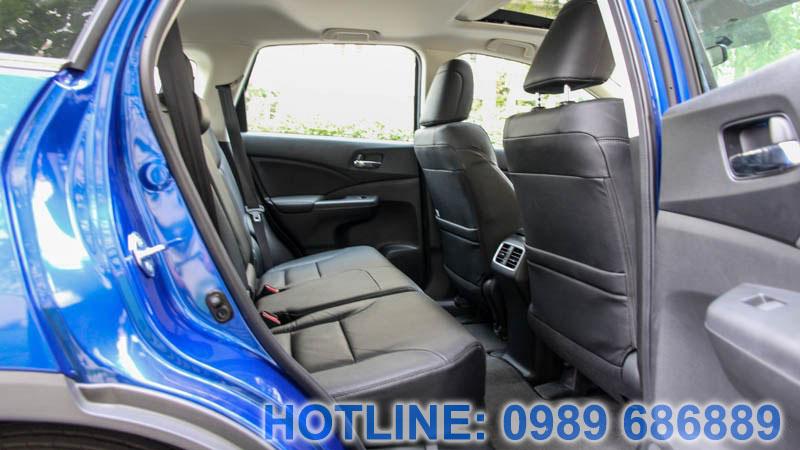 Hàng ghế sau Honda CRV 2015