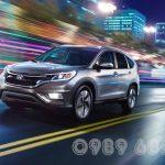 Lái thử Honda CR-V, Civic, City tại Việt Nam