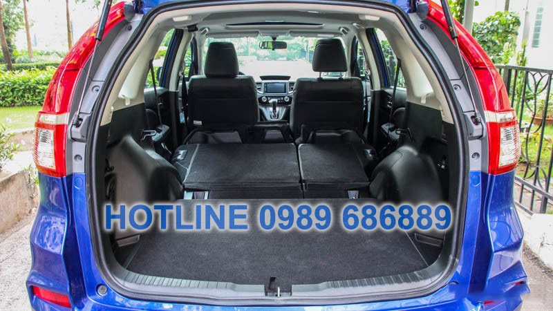 Khoang chứa đồ trên Honda CRV 2015