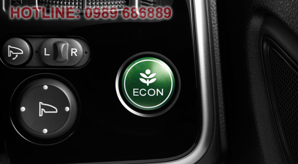 Nút Econ tiết kiệm nhiên liệu trên Honda city 2015