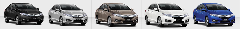 Phần đầu xe Honda city 2015