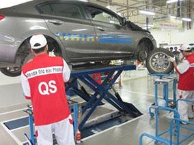 Bảo dưỡng định kỳ xe ô tô Honda