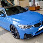 BMW M4 màu xanh trị giá 4 tỷ đồng tại Việt Nam