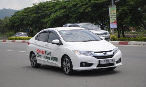 Honda City 2015 MT Fuel Challenge