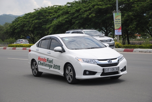 Honda City 2015 MT Fuel Challenge