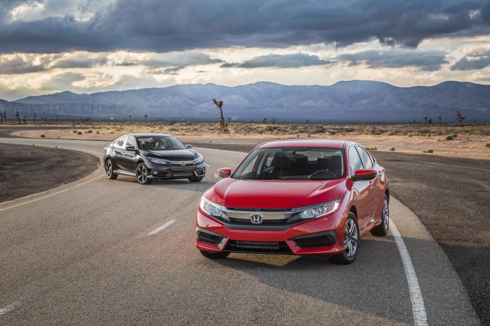Danh gia xe Honda Civic 2016 vua ra mat tai thi truong My