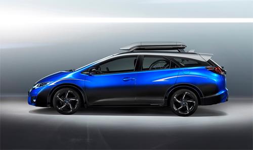 Honda civic concept xe hop cho nguoi me xe dep