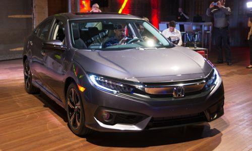 Xe Honda Civic 2016 trinh lang