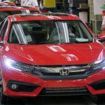 Honda Civic 2016 bắt đầu được sản xuất