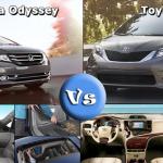 Có nên mua Honda Odyssey thay vì Toyota Sienna?