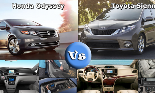 Co nen mua Honda Odyssey thay vi Toyota Sienna