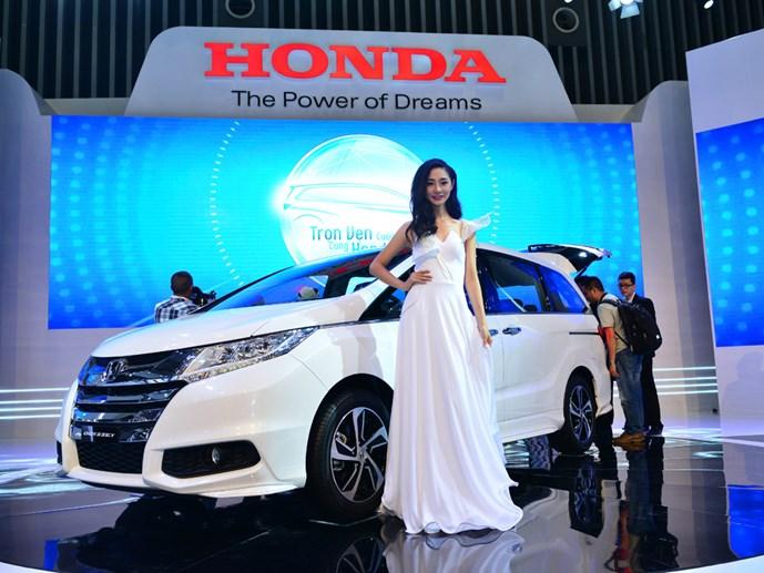 Honda gây ấn tượng tại Việt Nam Motorshow 2015