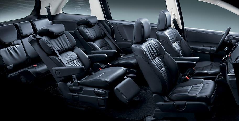 Noi that xe Honda Odyssey 7 cho