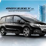 Honda Odyssey 2016 công bố giá bán 1 tỷ 990 triệu