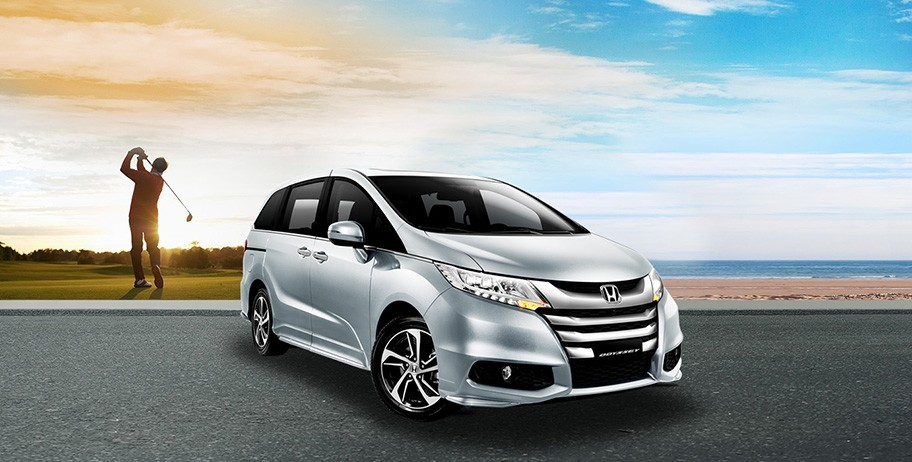 Xe Honda Odyssey 2016 tai Ha Noi