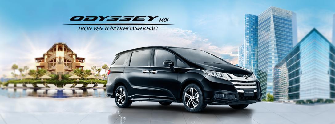 Xe Honda Odyssey 2016 tai viet nam