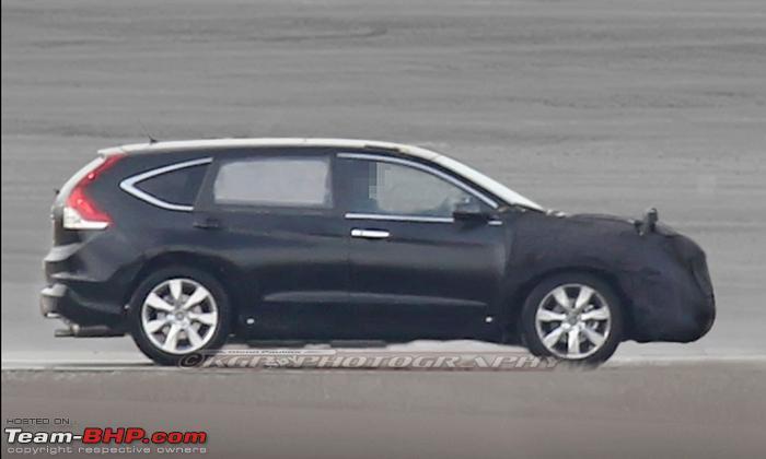 Honda CR-V 2016 moi se la xe 7 cho ngoi