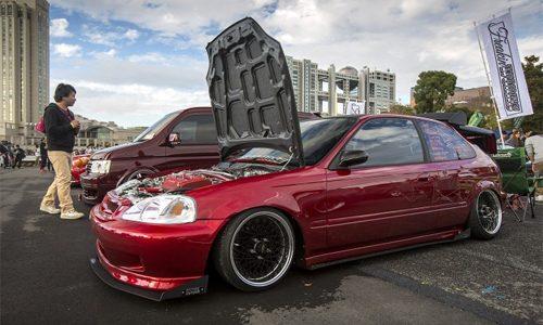 Honda Civic do phong cach My