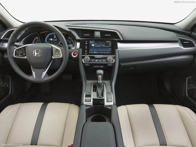 Bang tablo honda civic 2016