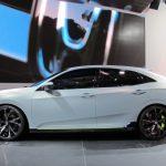Nguyên mẫu hatchback của Honda Civic 2017 ra mắt