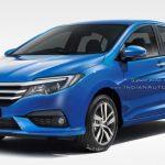 Lộ hình ảnh dự kiến đầu tiên về mẫu xe Honda City 2017