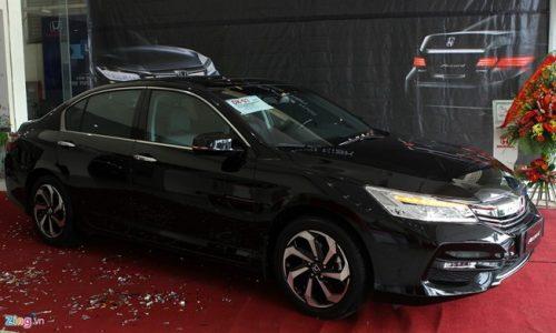 Honda Accord 2016 giữ nguyên giá 1,47 tỷ đồng ở Việt Nam