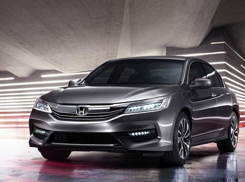Honda Accord 2016 mới chính thức trình làng
