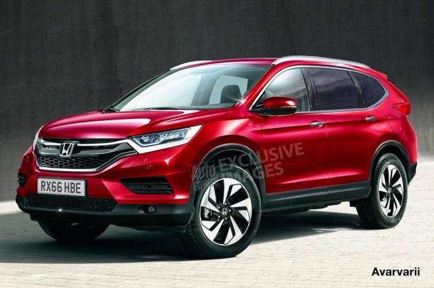 Honda CR-V 2017 sắp ra mắt có gì đặc biệt