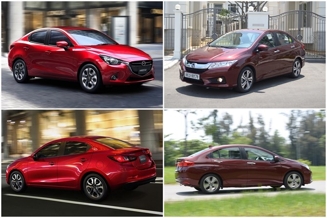 Honda City và Mazda2 Đâu là kẻ ngáng đường thực sự