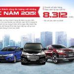 Nhiều ưu đãi kỷ niệm 10 năm Ô tô Honda