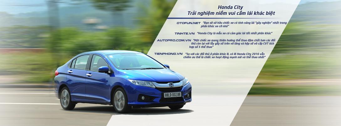 Honda City 2016 có cảm giác lái tốt nhất phân khúc