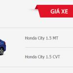 Honda City 2016 giảm giá khoảng 20 triệu từ 01/07/2016
