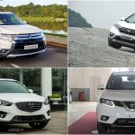 Chọn Mitsubishi Outlander, Mazda CX-5, Honda CR-V hay Nissan X-Trail