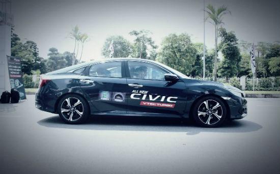 Honda cho khách hàng trải nghiệm 5 mẫu xe mới trong tháng 11