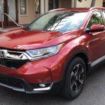 Rò rỉ ảnh thực tế Honda CR-V 2017 với nhiều cải tiến