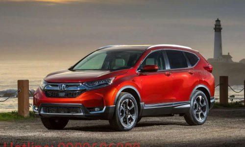Đánh giá xe Honda CRV 2017