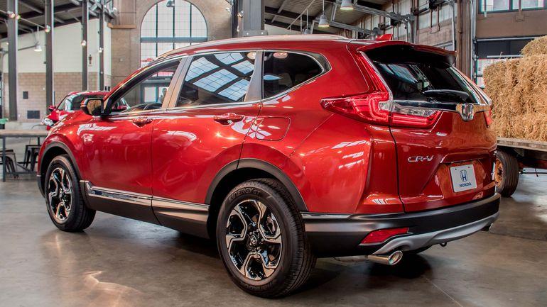 Gia ban xe Honda CRV 2017