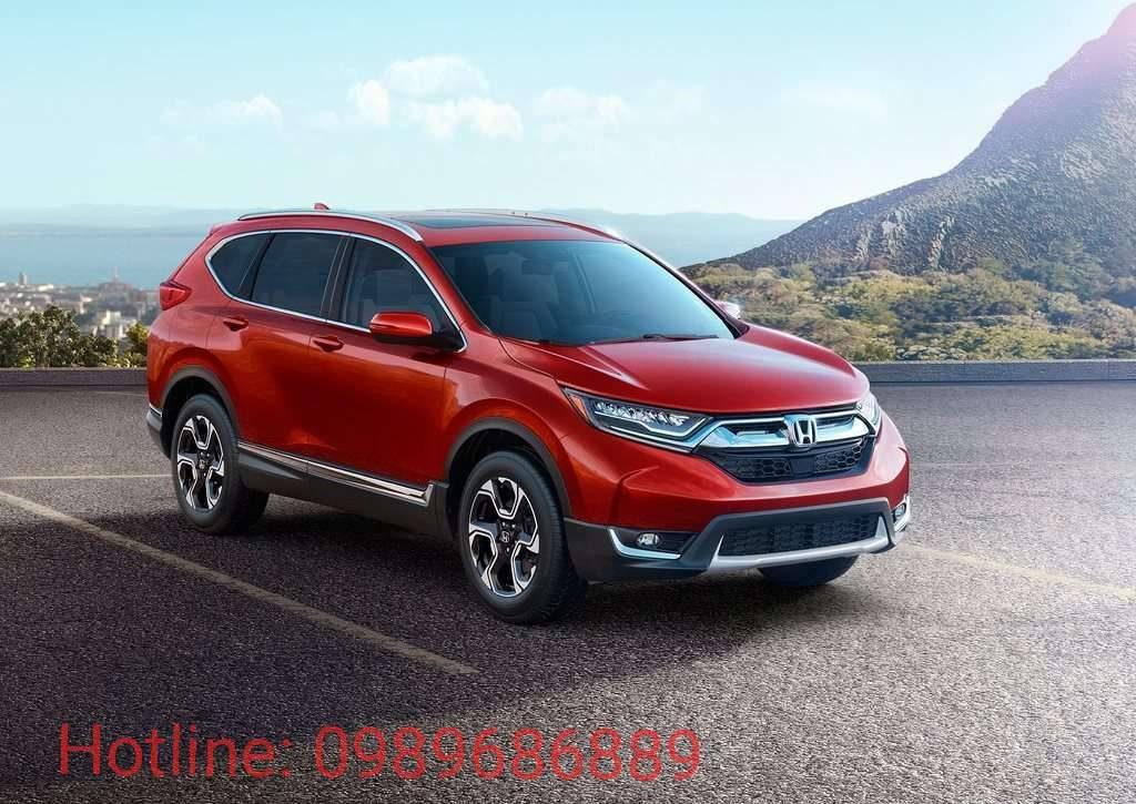 Ngoại thất Honda CRV 2017