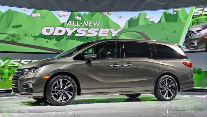 Honda Odyssey sắp có hộp số 10 cấp tự động vào đầu năm sau