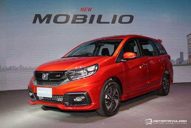 Xe MPV bình dân Honda Mobilio 2017 ra mắt Thái Lan