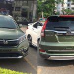 Honda CR-V 2016 màu xanh lục đã có mặt tại Hà Nội