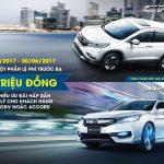 Honda hỗ trợ phí trước bạ 50 triệu đồng cho khách mua CR-V và Accord